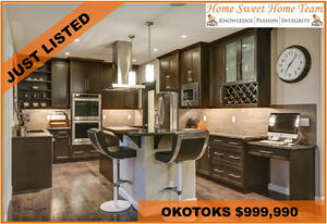 ULTIMATE LUXURY IN OKOTOKS- Custom Built Air Ranch Home For Sale
