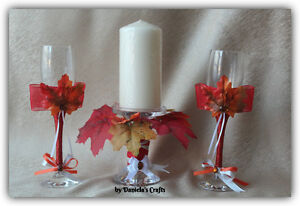 Hand made champagne glasses for weddings and special occasions Kitchener / Waterloo Kitchener Area image 10