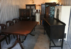 ** Antique cabinets/sideboards/vanities, refinished (delivery)