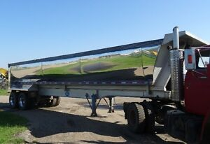 2006 Mac Alum Gravel End Dump Trailer