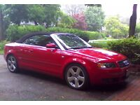 Audi A4 convertible 2.4 V6 Quattro 2003/52 Leather seats swap px Vw seat Leon BMW cabriolet