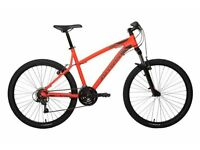 "ORANGE MOUNTAIN BIKE B'TWIN - ROCKRIDER 340 - 21"" ALU FRAME - MTB - ADULT MENS BICYCLE - 165 OVNO"
