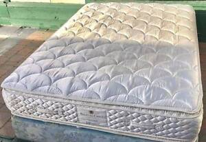 Excellent Sealy Brand Pillow top plush Queen Mattress. Delivery Kingsbury Darebin Area Preview