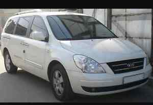 Kia white van 2007 model