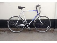 "GENTS RALEIGH HYBRID BIKE 24"" FRAME £65"