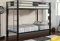 ★LORD SELKIRK FURNITURE MERCURY METAL T/T BUNK BED FRAME★$249.*