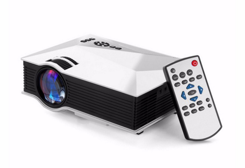 UC46 mini-led projector with WIFI Hdmi theater multimedia projector Full HD 1080p Video