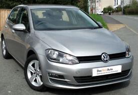Volkswagen GOLF 1.6 TDI Match Sat Nav diesel 105ps ( s/s ) 2014 : £0 tax 29k mi