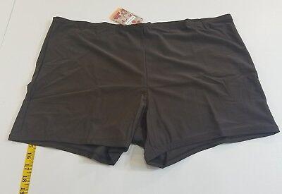 Swimwear $45 Lane Bryant Cacique Printed Swim Brief Plus Size 28w New 28