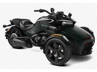 Can-Am Spyder F3-S Monolith Black Semi-Auto 2020