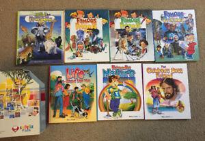 "7 volume  ""Making friends"" series, educational kids books NEW"