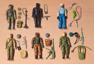 Vintage 1982 - 1983 GI Joe Figure Lot - Complete