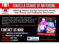 Driving Instruction lessons available