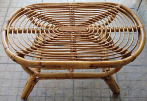 Very Strong Wicker Coffee Table