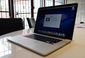 Latest Macbook Pro 15 Retina 2.2 i7 Quad Core 16GB 512GB CS6 w/