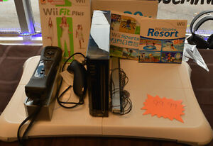wii 3 games and fitness board