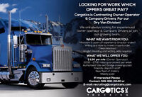 Contracting Owner Operator & Company Drivers($1.50 Per mile O/O)