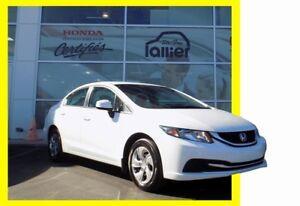 Honda Civic LX GARANTIE 10 ANS/200 000 KM VOITURE FIABLE 2013