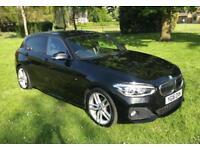 2016 16 BMW 1 SERIES 1.6 120I M SPORT 5D 167 BHP