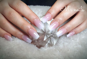 Gel  Acrylic nails for $35