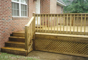 Looking for wood pickets, spindles, for deck