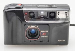 Vintage Yashica Ninja Star AF 35mm film camera