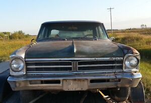 Parting Out: 1966 Pontiac Acadian Canso 4dr 6cyl/auto $20+up