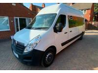 Vauxhall Movano High Top Motorhome Campervan for Sale Two Berth Three Seatbelts