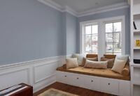 Residential Painting Services and Baseboard Installation