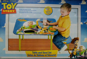 Toy Story Table and Stool set **Brand New! **