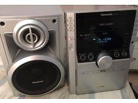 Panasonic 5 disc cd changer