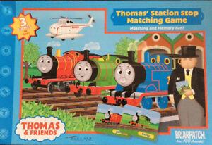Thomas & Friends - Jeu de mémoire - 3 jeux en 1