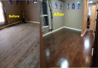 Sanding, Laminate,Hardwood Floor Installation, Full Renovation