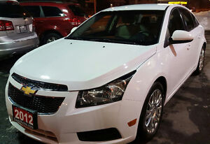 2012 Chevrolet Cruze Eco w/1SA Sedan TURBO BLUETOOTH NO ACCIDENT