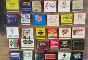 Assorted Matchbooks