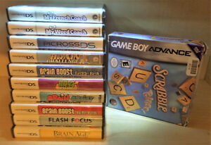 Nintendo DS -  MEGA BRAIN BOOST  by Majesco or lot of 11 games West Island Greater Montréal image 3