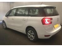 2014 WHITE CITROEN C4 GRAND PICASSO 1.6 E-HDI 115 VTR+ MPV CAR FINANCE FR £29 PW