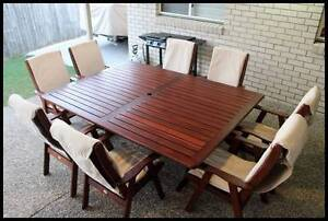"Quality 9 piece ""Studio"" KWILA OUTDOOR DINING SETTING Sydney City Inner Sydney Preview"
