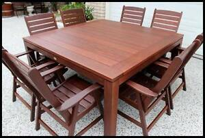 "Quality (9 pce) ""KASULE"" KWILA OUTDOOR DINING SET- Near new ! Sydney City Inner Sydney Preview"