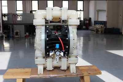 New Double Diaphragm 2 Air Poly Pump Includes Mini Air Pressure Regulator