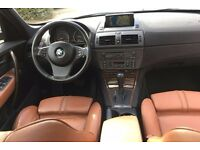 LHD LEFT HAND DRIVE BMW X3 3.0D HIGH EXECUTIVE 2005 PANO ROOF SAT NAV M SPORT AC FULLY LOADED IMMACU