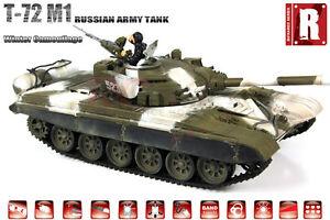 VS Tank Pro 1:24 Scale Russian T-72 M1 Winter Camo RC Battle Tank (Infrared Vers