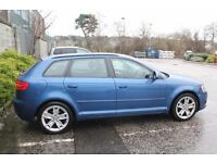 2009 Audi A3 Sportback 2.0 TDI (1 year MOT, new cambelt and a towbar)