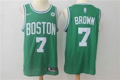 BROWN CAMISETA DE LA NBA DE LOS CELTICS VERDE. TALLA S,M,L.