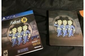 Fallout 76  (PS4) - Metal Case with Controller Skin