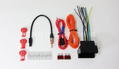 09-12 Porsche 987 Boxster Aftermarket Radio Wiring Harness Kit (non Amplified)