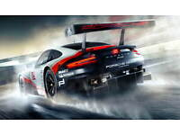 Porsche 911 GT RSR  advert promo poster