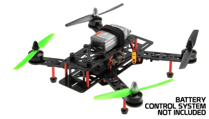 AeroSky 280mm Superlight Carbon Fiber KIT combo RC Quadcopter Racing Drone