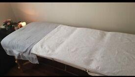 Ebony qualified in swedish massage