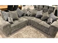 LUXURY SOFA VERONA CORNER OR 3+2 SEATER SOFA SET AVAILABLE IN STOCK